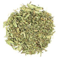 stevia blad gesneden