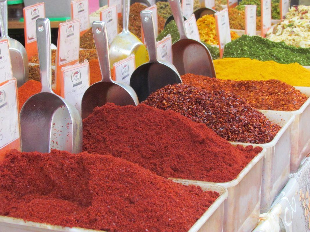 Smaak van kruiden en specerijen